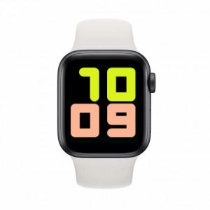 Smartwatch T500, Monitorizare Cardiaca, Tensiune, Sedentarism, Bluetooth 4.2 , Alb, T500-WHITE