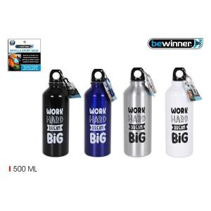 Sticlă de apă din aluminiu sport 500 ml, PMBY010102722773