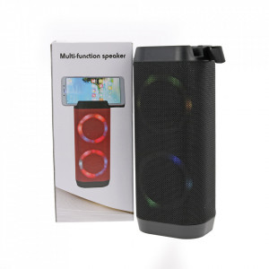Boxa Portabila Bluetooth, Lanterna, TF, USB, LED LV11-BLACK