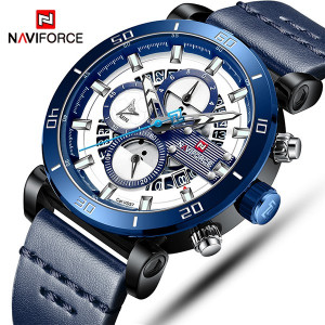 Ceas Barbatesc Naviforce Chronograph N087-V1