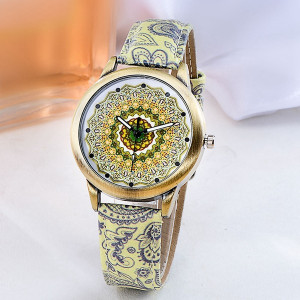 Ceas Dama Fashion Mandala Q333