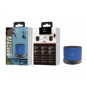 Mini Boxa Bluetooth Column , albastra, PMTF340243