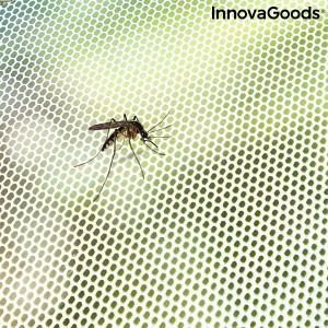 Plasă de protecție împotriva insectelor adezivă decupabilă pentru fereastră White InnovaGoods
