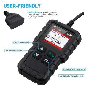 Scaner auto diagnoza auto universal , LAUNCH CR3001 ORIGINAL , ecran color , parametrii live data