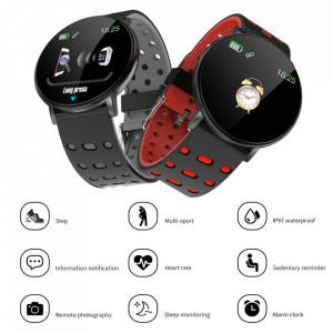 Smartwatch 119 Plus, iOS /Android, Bluetooth, Fitness Tracker, Negru
