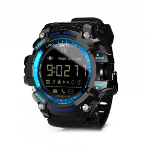 Sport Smartwatch Ceas Inteligent, WaterResist 50M-IP67, Shock Resistant