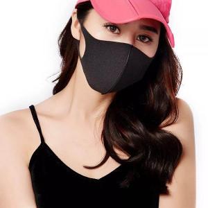 Masca protectie pentru fata Fashion, negru