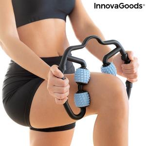 Aparat de automasaj muscular cu role Rolax InnovaGoods Wellness Relax