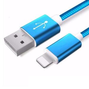 Apple Ligtning - cablu date incarcator 1.5m Albastru iPhone