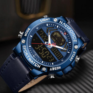 Ceas Barbatesc Chronograf Naviforce NF9164-V2