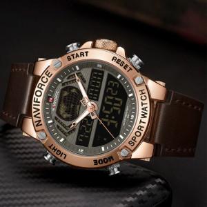 Ceas Barbatesc Chronograf Naviforce NF9164-V5