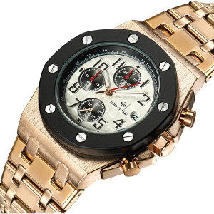 Ceas Barbatesc Full Chronograph Johnny Far F-201