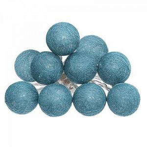 Ghirlanda Led cu baterie ,10 globuri albastre PM116415AB3