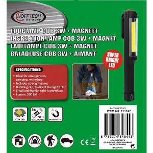 Lampa 3W cu magnet - 1 bucata