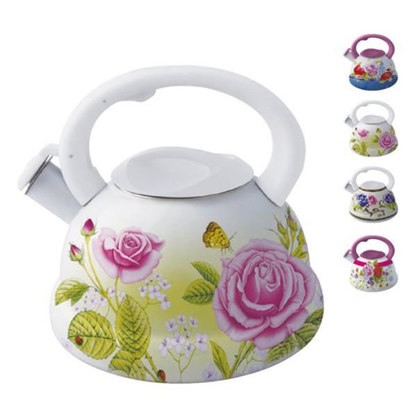 Ceainic email cu fluier Peterhof, capacitate 3.0 litri thumbnail