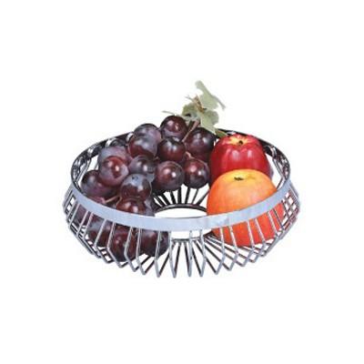 Cos metalic decorativ pentru fructe Kinghoff, diametru 25 cm thumbnail