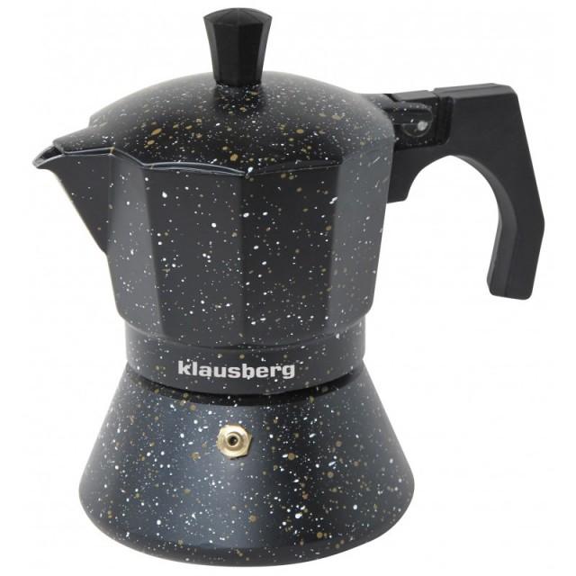 Espressor pentru aragaz Klausberg, capacitate 3 cupe, inductie thumbnail