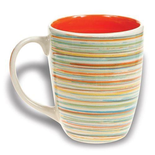 Cana din ceramica Nava, capacitate 350 ml, portocaliu thumbnail