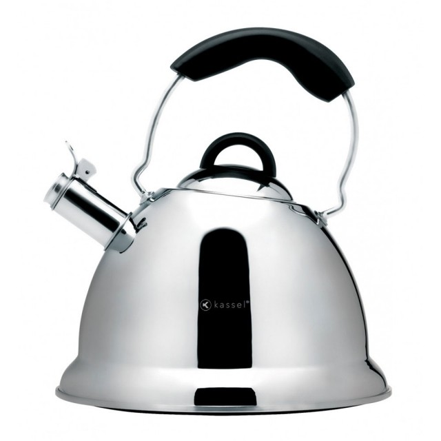 Ceainic cu fluier Kassel, capacitate 2.6 litri, material inox, inductie, seria Amber thumbnail