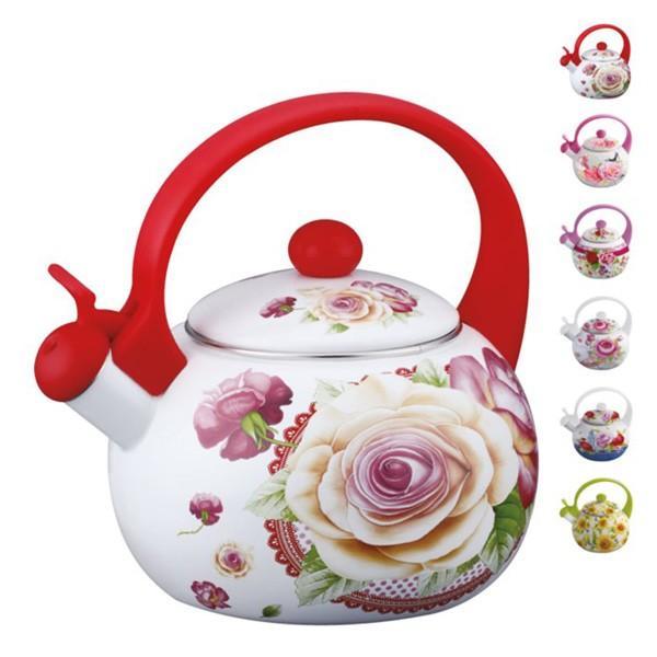 Ceainic email cu fluier Peterhof, capacitate 2.0 litri thumbnail
