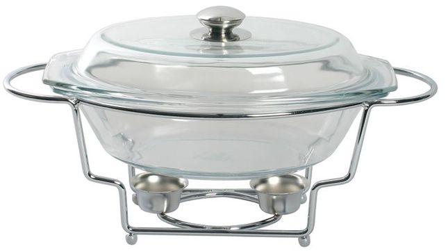 Chafing dish cu vas termorezistent 2500ml Helios thumbnail