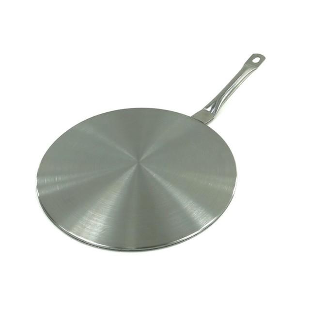 Dispozitiv (adaptor) pentru plite cu inductie KingHoff, inox, diametru 23 cm thumbnail