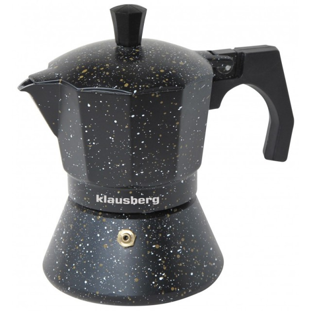 Espressor pentru aragaz Klausberg, capacitate 9 cupe, inductie thumbnail