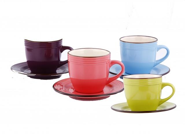 Set cesti pentru ceai si cafea VaBene VB-6080002, 8 piese thumbnail
