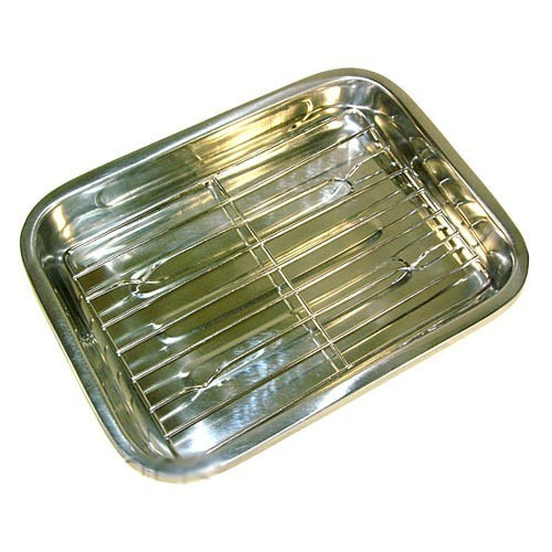 Tava din inox pentru lasagna KingHoff, lungime 41 cm thumbnail