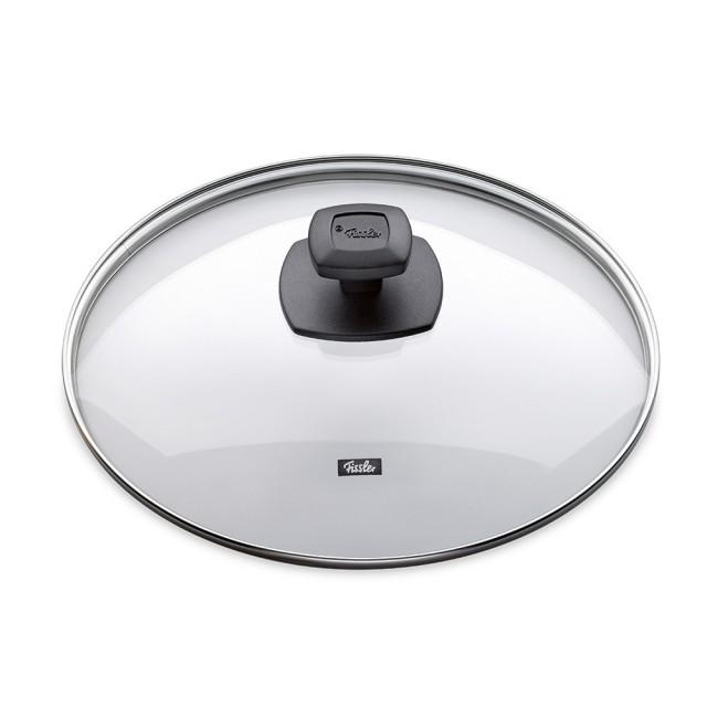 Capac sticla Fissler, diametru 28 cm, maner ergonomic, Seria Comfort thumbnail