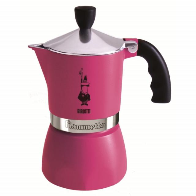 Espressor pentru aragaz Bialetti, capacitate 3 cupe, Seria Fiammetta, mov thumbnail