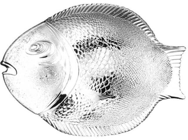 Platou servire forma peste 36x35cm Marine thumbnail