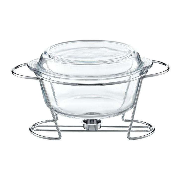 Chafing Dish Rotund 4L Saule thumbnail