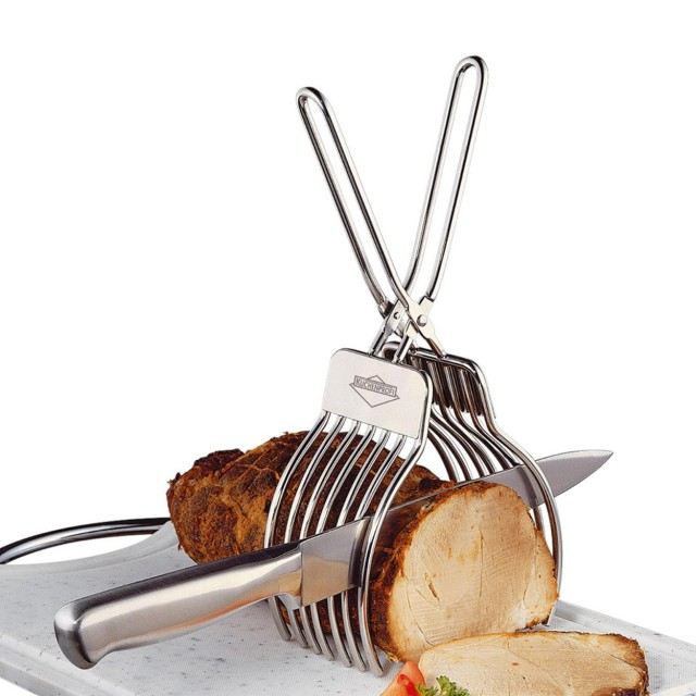 Cleste pentru feliat friptura, salamuri sau baghete Kuchenprofi, material inox thumbnail