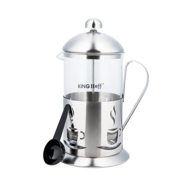 Infuzor din inox pentru ceai sau cafea KingHoff, capacitate 350 ml thumbnail