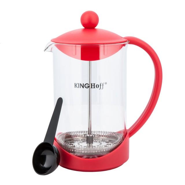 Infuzor pentru ceai sau cafea KingHoff, capacitate 800 ml thumbnail