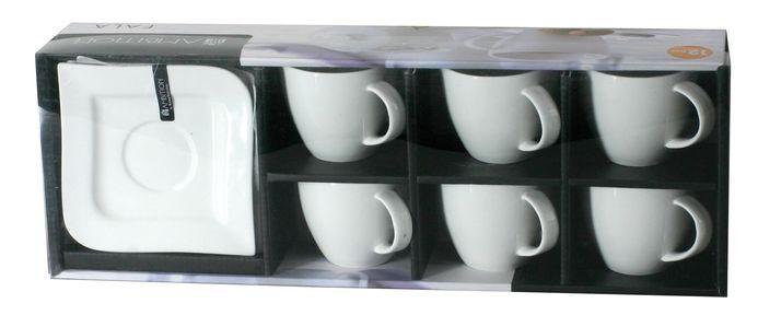 Set cafea/ceai 12 piese, ceasca+suport, 220ml Fala thumbnail