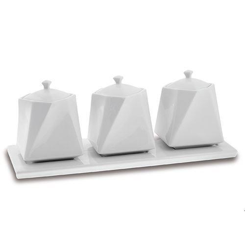Set de 3 recipiente din portelan Nava thumbnail