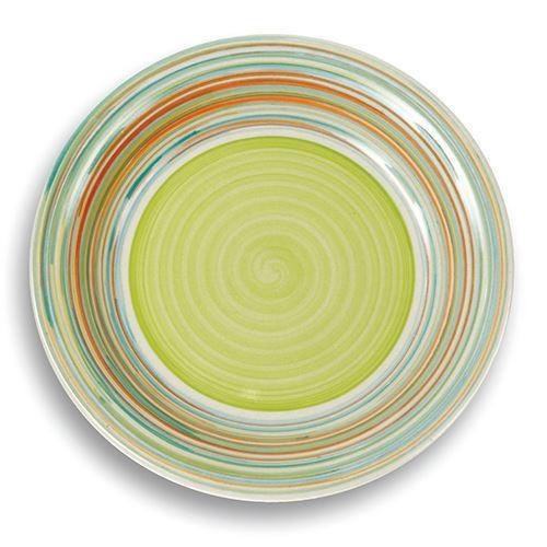 Farfurie mica din ceramica Nava, diametru 20,5 cm, verde thumbnail