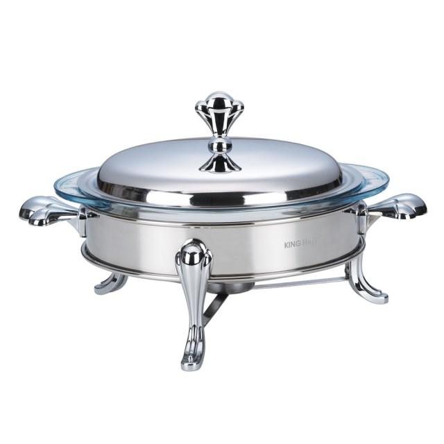 Vas cald (dish) KingHoff, inox, rotund, capacitate 2 litri thumbnail