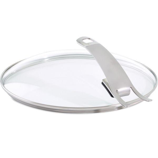 Capac sticla Fissler, diametru 24 cm, maner inox, rezista pana la 220°C, Seria Premium thumbnail