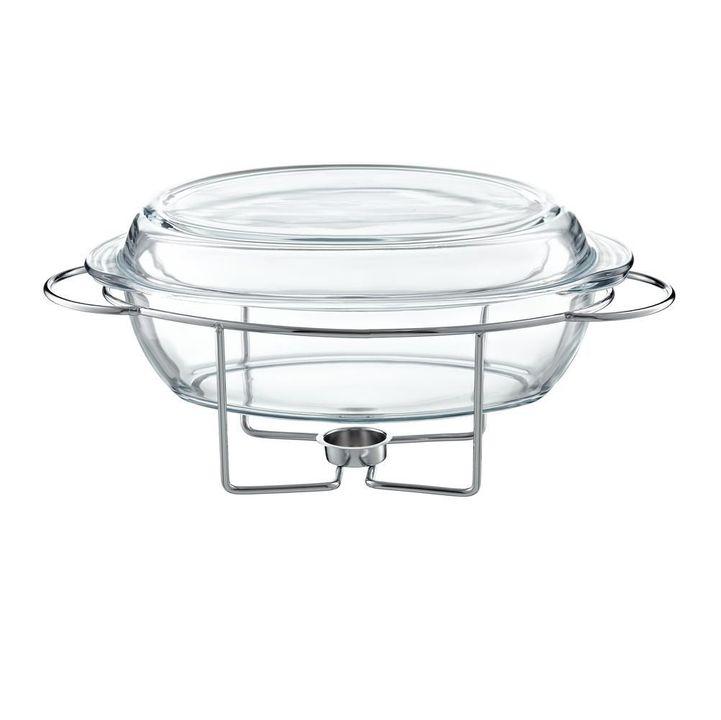 Chafing Dish Oval 4.5L Saule thumbnail