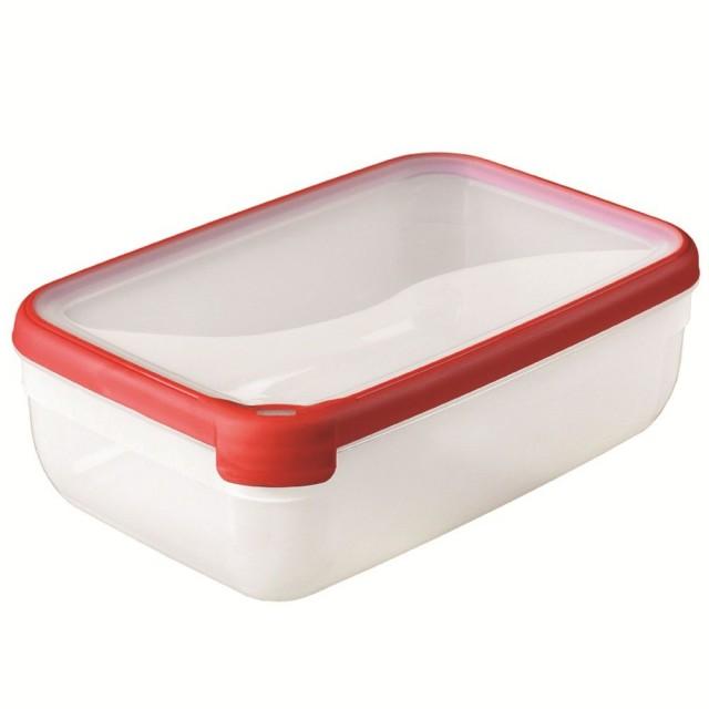 Cutie pentru alimente Curver, capacitate 4 litri, plastic, garnitura silicon, seria Grand Chef thumbnail