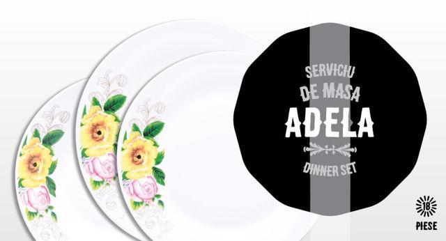 Serviciu de masa 18 piese Adela thumbnail