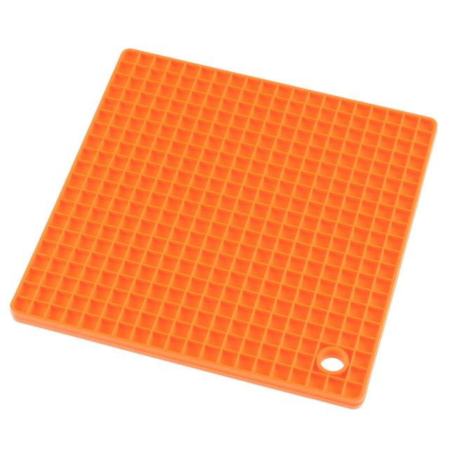 Suport termorezistent din silicon KingHoff, patrat, latime 17,5 cm