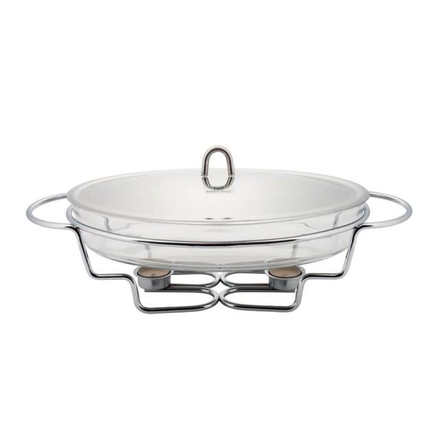 Vas cald (dish) KingHoff, inox, oval, capacitate 3.2 litri thumbnail