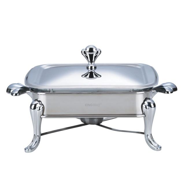 Vas cald (dish) KingHoff, inox, patrat, capacitate 1,8 litri thumbnail