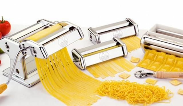 Локшинорізка ручна Pasta Machine RB-911 нержавіюча сталь