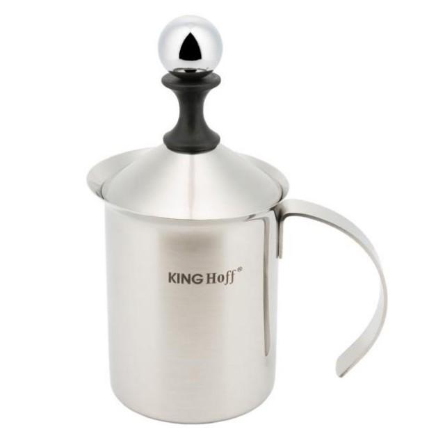 Cana pentru spuma din lapte KingHoff, capacitate 400 ml thumbnail