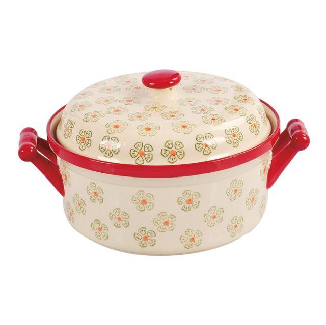 Cratita ceramica cu capac Peterhof, capacitate 1,2 litri thumbnail